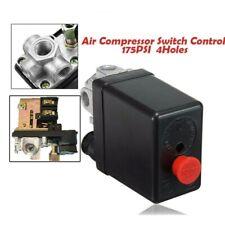 220v 20a 4 Hole Air Compressor Pressure Switch Heavy Duty Control Valve 175psi