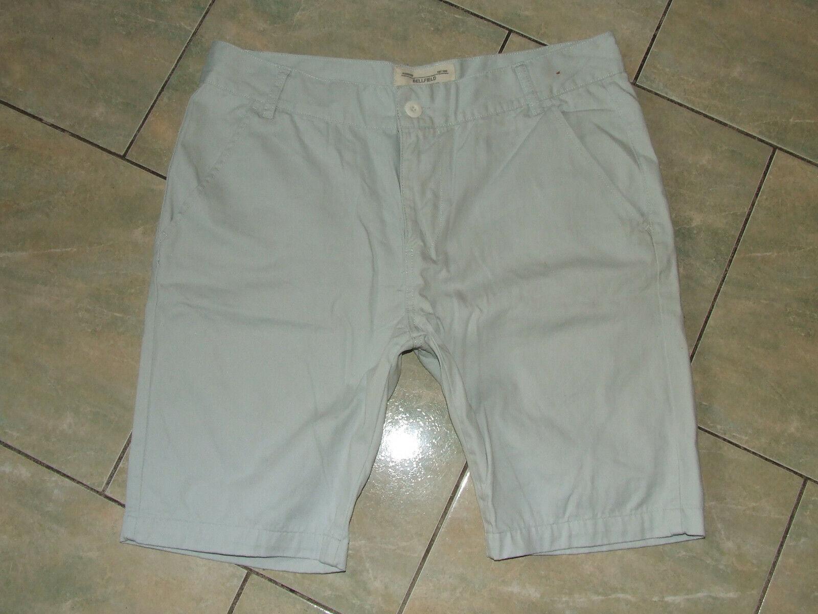 Bellfield***gepflegte hellgraue Shorts Bermuda***W36