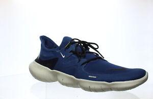 Nike-Mens-Free-Rn-5-0-Coastal-Blue-Black-platinum-Tint-Running-Shoes-Size-11-5