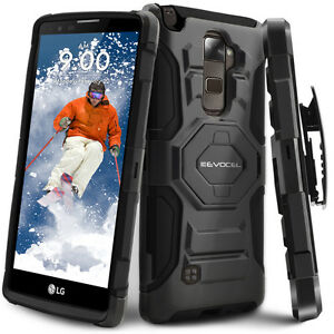 LG-G-Stylo-2-PLUS-Case-Rugged-Holster-Case-with-Kickstand-amp-Belt-Swivel-Clip