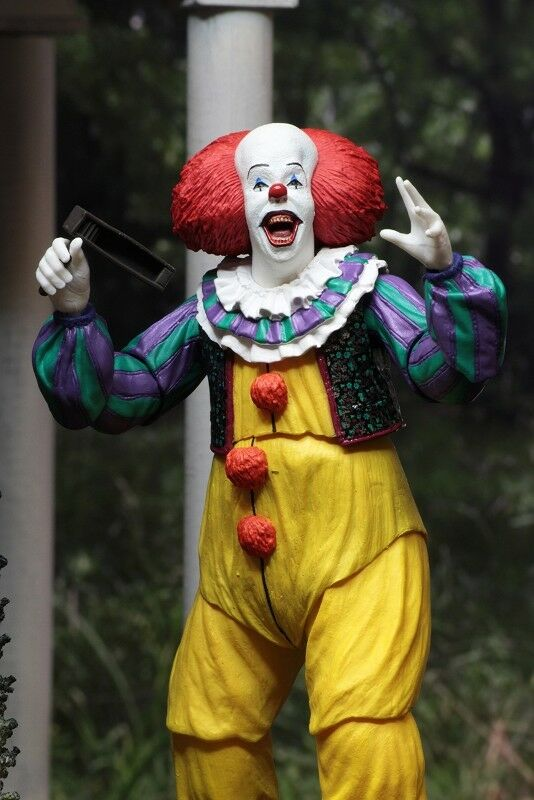 Action figure Ultimate Pennywise Stephen King's IT The The The Movie 1990 6 11 16in Neca a78b14
