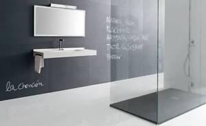 Bodentiefe Duschwanne bodengleiche dusche 200x90 mineralguss begehbare dusche 90x200