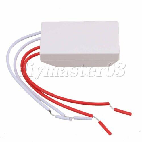 AC220V 50Hz//60Hz bis 12V 60W Halogenlampe Elektronischer Transformator Led