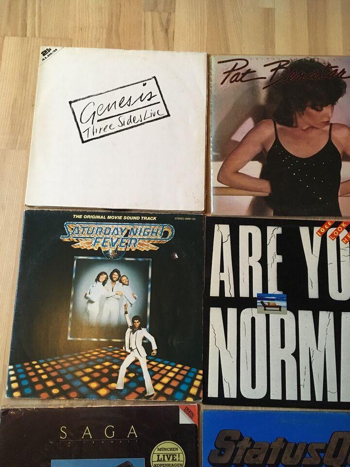 LP, Pladesamling 25kr pr LP - 100kr for alle