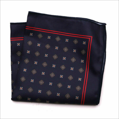 Men/'s Satin Silk Pocket Square Hankie Hankerchief Wedding Party Formal Suit New