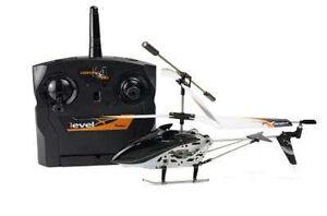 RC-Helikopter-Hubschrauber-Level-X-2-4-GHz-inkl-Akku-NEU