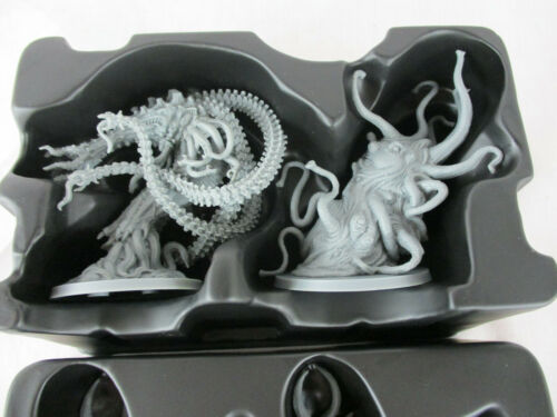 Cthulhu Death May Die LOT of 4 CTHULHU MYTHOS MINIATURES FIGURES New!!