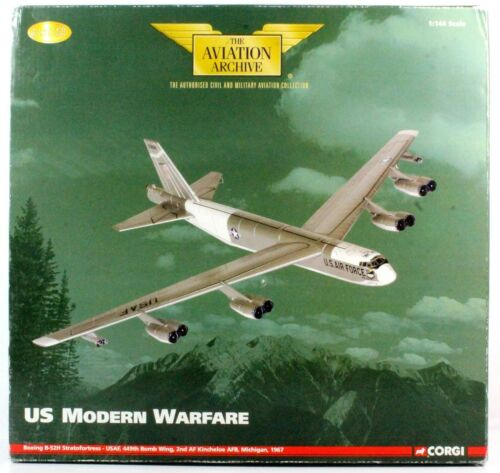 1144 CORGI AA33507 BOEING B52H STRATOFORTRESS USAF 449TH BOMB WING 1967 D29
