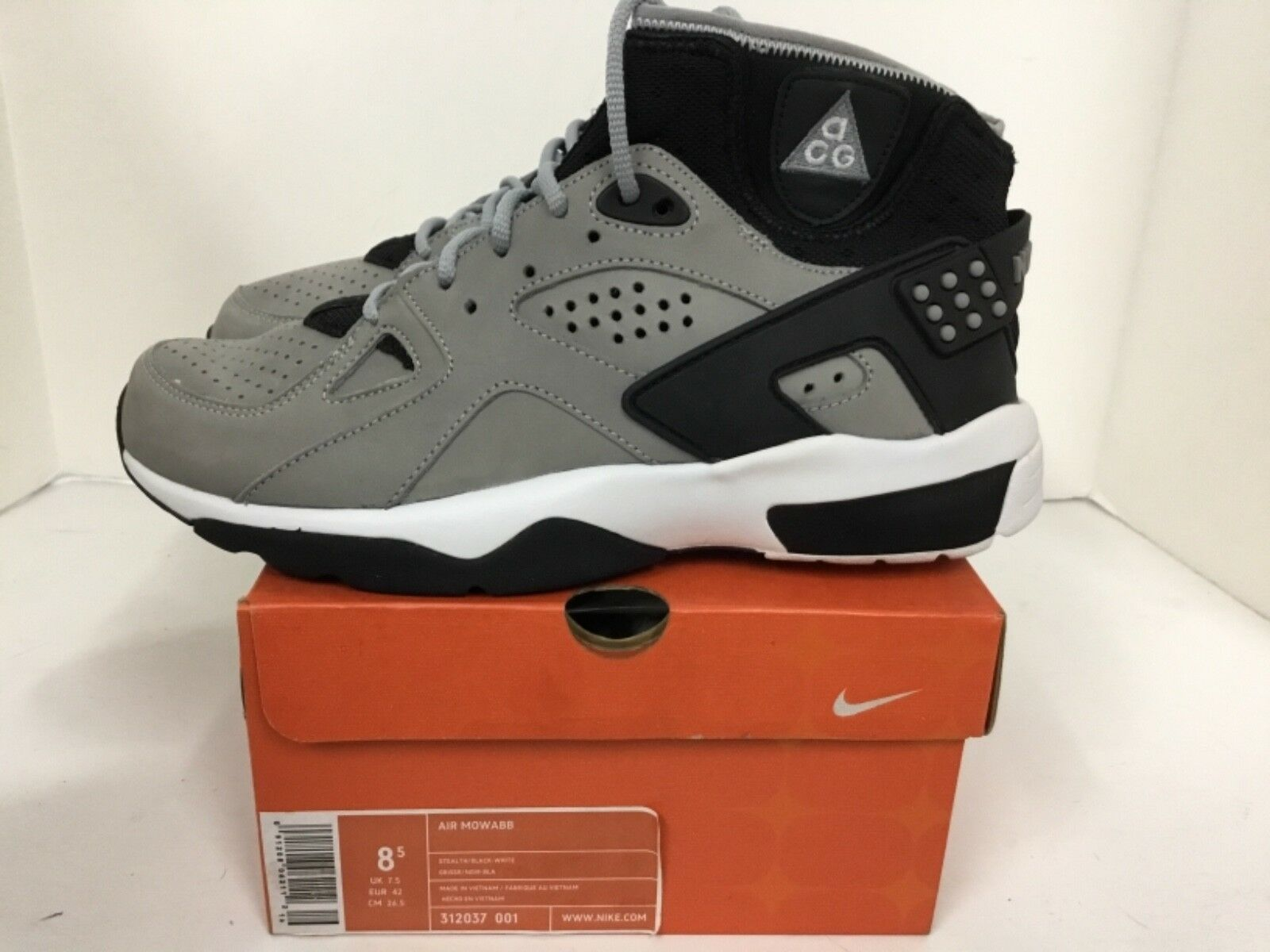 Nike Mens Air Mowabb 312037 001 Size 8.5