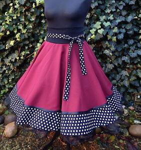 f3f1e1d2b361 Das Bild wird geladen Tellerrock-Tanz-Square-Dance-Rock-Skirt-50er-Petticoat -