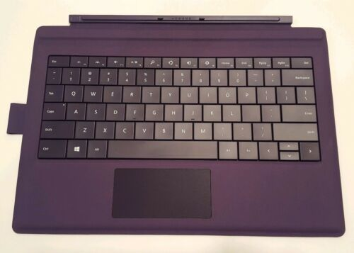 Purple Type Cover Keyboard w Pen Loop for Microsoft Surface Pro 6 4 Pro 5 3