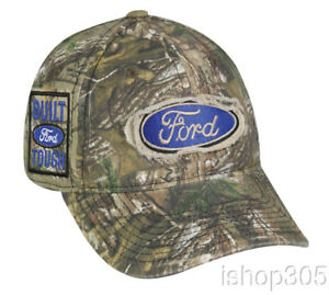3ad23dfc97a Image is loading Ford-Logo-Realtree-Xtra-Camouflage-Hat-Hunting-Outdoor-