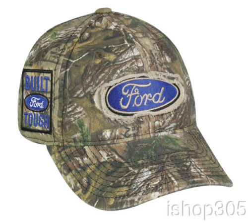 Ford Logo Realtree Xtra Camouflage Hat Hunting Outdoor Cap Baseball Cap