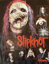 Slipknot   /   Blind Guardian  __  1 Poster / Plakat  __   45 cm x 58 cm