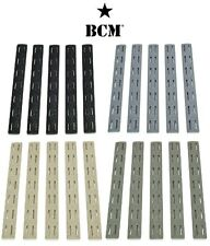 Bravo Company BCM Rail Cover Keymod Or MLOK-5 Pack-Choose Version-BLK-FDE-FOL-WG