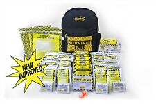 72 Hr. Emergency Survival Kit 4 Person Economy Backpack KEC4 FOOD RADIO MAYDAY