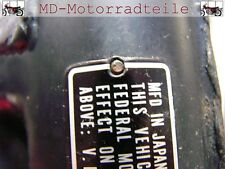Honda CB 750 Four K0 K1 K2 Nieten Set für Typenschild Screw, rivet, 1.5x5 Set