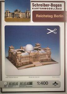 Schreiber-Bogen-Kartonmodellbau-Reichstag-Berlin-Papier-Modellbausatz-1-400