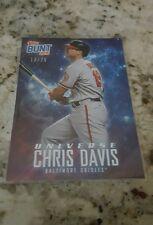 2015 Topps Update Chris Davis Bunt Universe Baseball Card 13/25 (AYC)