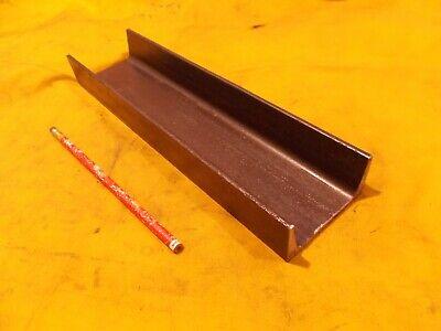 """6/"""" STEEL CHANNEL A-36 welding shop stock fab 6/"""" WIDE x 2/"""" LEGS x 12/"""" LONG"""