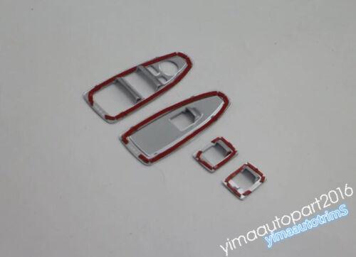 Accessories For BMW 3 Series F30 320i 2013-2018 Door Window Lift Button Trim Kit