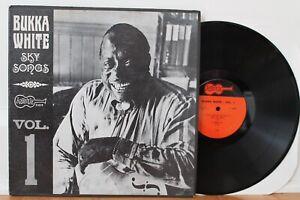 Bukka-White-LP-Sky-Songs-Vol-1-Arhoolie-1019-Orig-1965-CLEAN