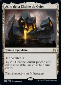 MTG-Magic-VF-asile-de-la-chaine-de-geier-NM