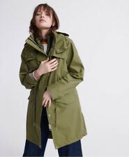 Superdry Womens Long Sleeve Essentials Parka Coat