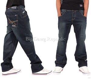 Ecko-Men-039-s-Designer-Jeans-Is-Time-Money-Hip-Hop-Denim-Skater-G-Aston-Star