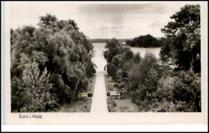EUTIN-Holstein-schoene-alte-Ansichtskarte-um-1940-50-AK-Postkarte-Schleswig-Holst