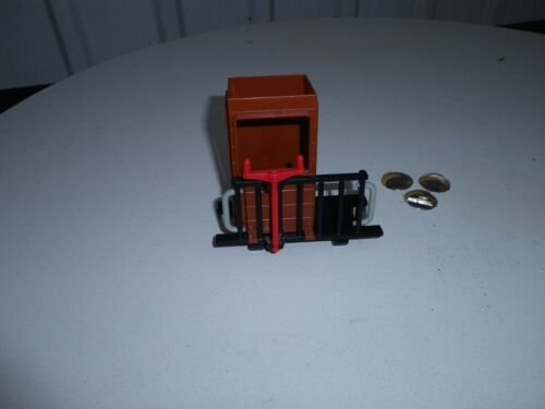 1 x Playmobil Bremserbühne mit Bremserhaus ohne Dach