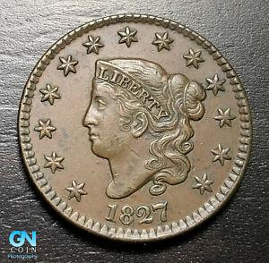 1827-Coronet-Head-Large-Cent-MAKE-US-AN-OFFER-B3904