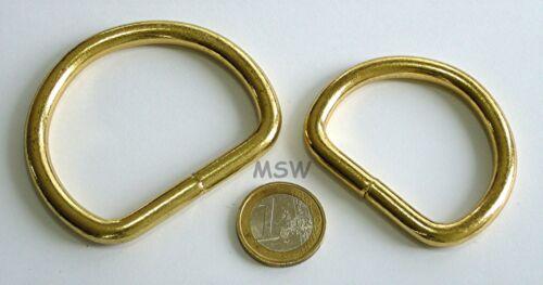 32x6,2mm 5 D-Ringe,E//vermessingt geschweißt