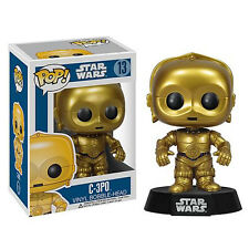 Star Wars POP C-3PO Bobble Head Vinyl Figure NEW Toys Funko