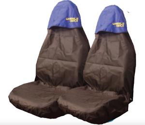 Car-Seat-Covers-Waterproof-Nylon-Front-Pair-Protectors-fits-Peugeot-107-207-307