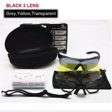 Ballistic Eyeshield Glasses ESS CROSSBOW Military Goggles 3 Lens Bullet-proof