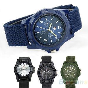 Military-Army-Solider-Sport-Weave-Canvas-Belt-Quartz-Wrist-Watch-B8