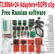 Minipro TL866A programmer 24 adapter socket SOP8 Clip IC clamp Bios Flash EPROM