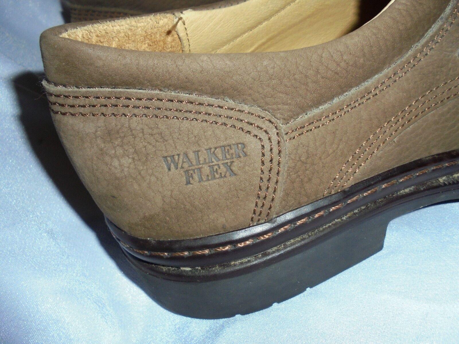 Walker Flex Uomo Marrone Pelle Slip On Cinturino Scarpe Misura Misura Misura EU 45 NUOVO SENZA ETICHETTE 9bfe56