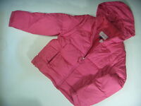 Limited Too Girls Pink Down Puffy Jacket In Children Size Xxl C118 Cb A1