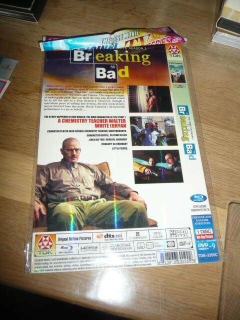 Breaking bad sæson 3-4, DVD, action
