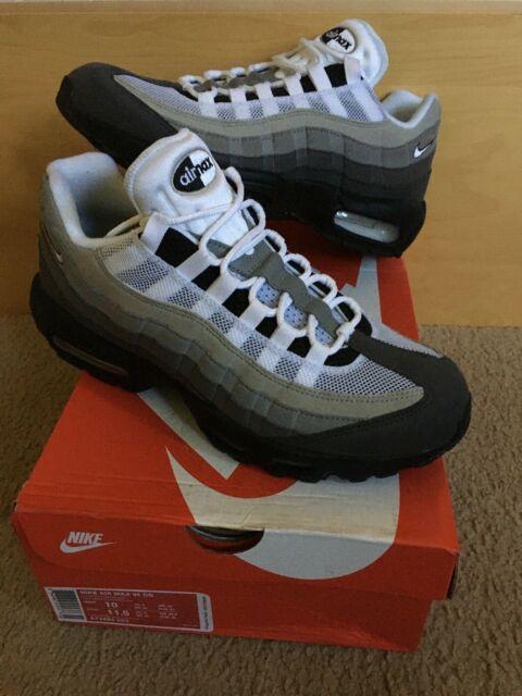 Nike Air Max 95 OG 3M Granite Dust Grey Gradient Black Sz 10 infrared 90 97