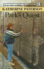 Park's Quest by Katherine Paterson (1989, Paperback)