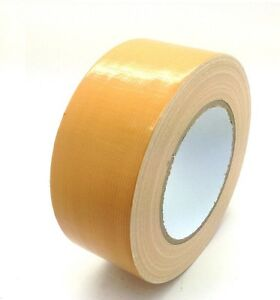 Light brown automotive grade duct tape gaffa cloth 48mm x 50m image is loading light brown automotive grade duct tape gaffa cloth mozeypictures Gallery