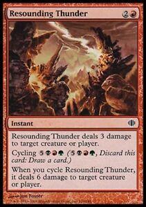 4x-Resounding-Thunder-Shards-of-Alara-MtG-Magic-Red-Common-4-x4-Card-Cards