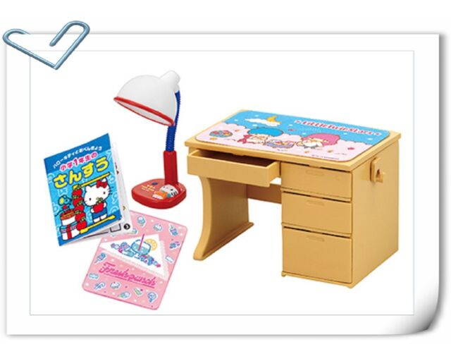 Re-ment Sanrio Lovely Memories Hello Kitty School Bag Keroppi tableware No.2