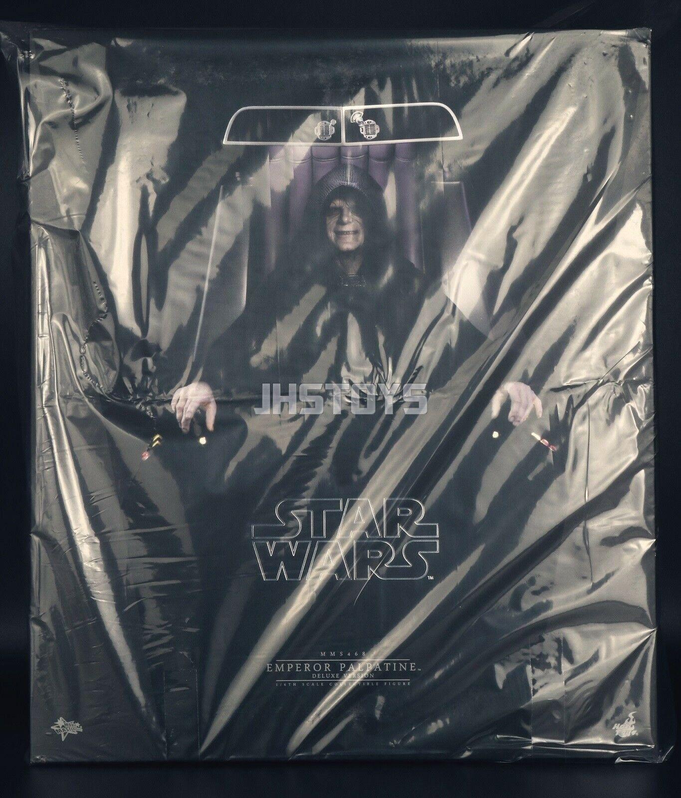 heta leksaker 1  6 stjärnornas krig VI Returnering av Jedi -kejsaren Palpatine Deluxe Ver MMS468