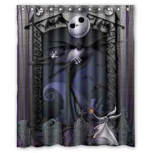 Home Decor Nightmare Before Christmas Waterproof Polyester ...
