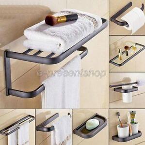 Black-Oil-Rubbed-Brass-Bathroom-Accessories-Set-Bath-Hardware-Towel-Bar-Bxz006