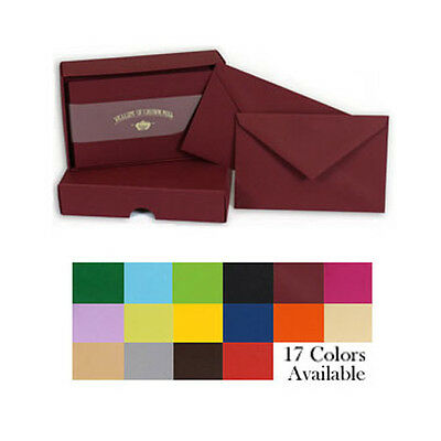Crown Mill Luxury Letter Writing Correspondence Cards Set / Box Multiple Colours